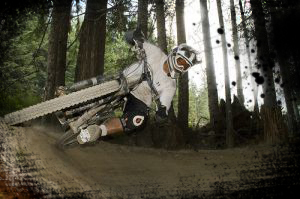 An image from the Whistler Bike Park Coaches Camp (IDP & CTC) course