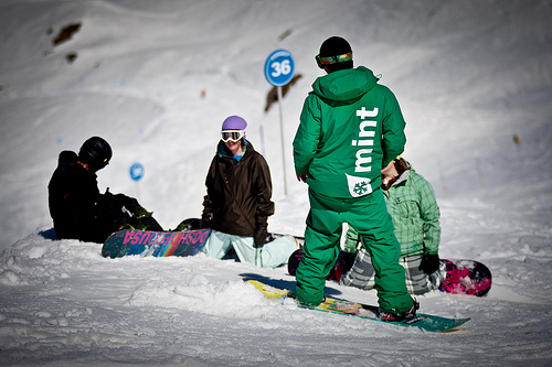 An image from the Morzine Ski & Snowboard Instructor Course course