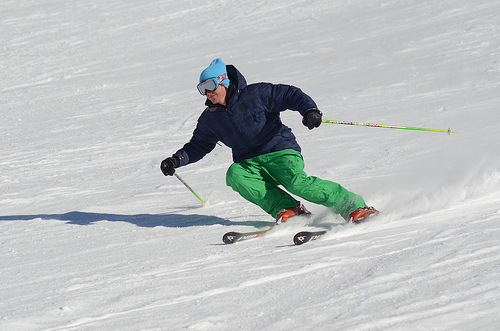 An image from the Saas Fee Ski or Snowboard Instructor Course course
