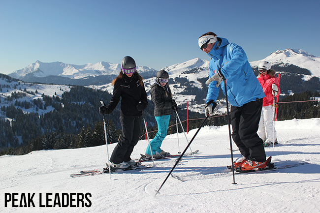 Peak Leaders, BASI, Morzine, Ski instructor course, James Crompton, gap year