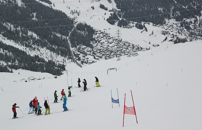 race training, Verbier, ski, Switzerland, GS, Giant Slalom