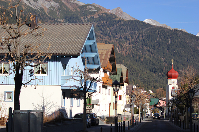St Anton, Anwarter, Autumn 2013