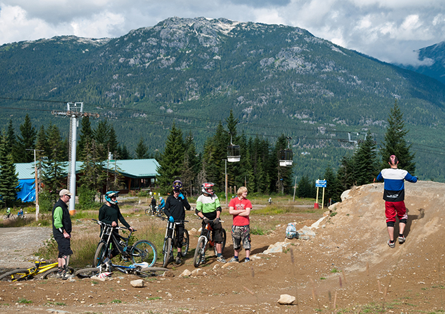 Peak Leaders mountain bike coaching course, IDP level 2 Mountain Bike qualification, CTC mountain Bike qualification