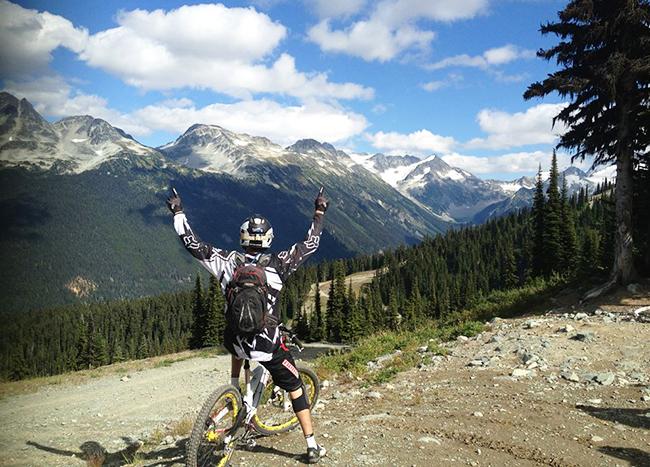 Whistler Mountain Bike Park, Whistler, Peak Leaders mountain bike course