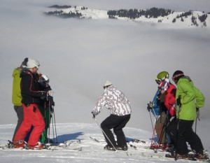 ski instructor training morzine