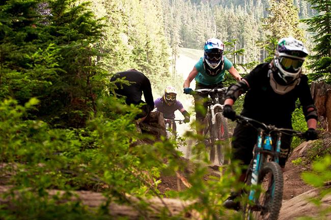 IDP level 2 mountain bike instructor qualification, Peak Leaders, Whistler Bike Park