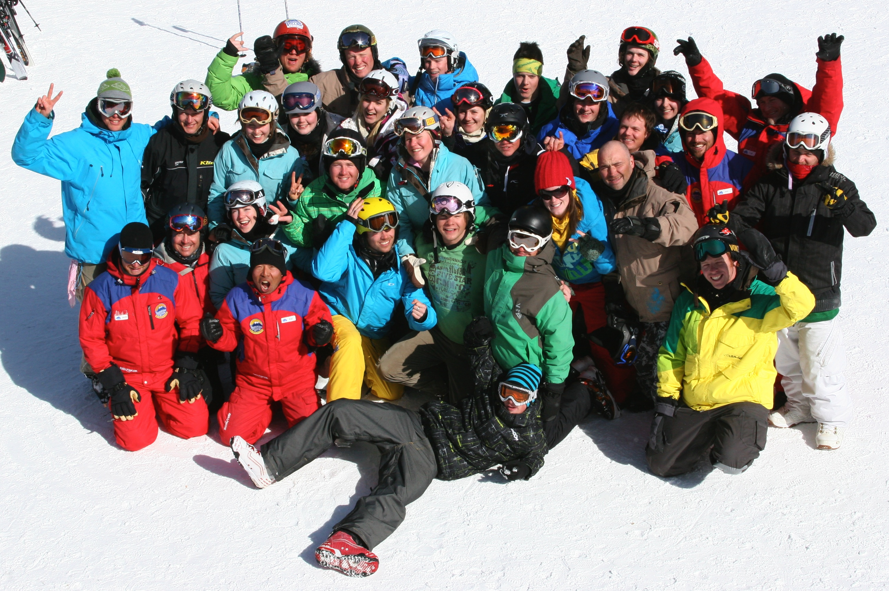 An image from the Banff Ski or Snowboard Instructor Course course