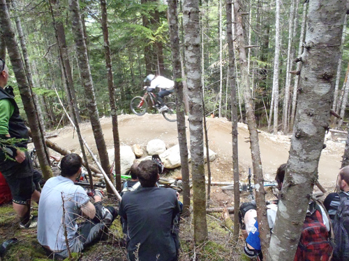 whistler bike park course