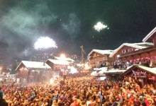 New Years Eve Verbier, Switzerland