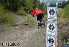 Peak Leaders, mountain bike instructor course, IDP level 2, Whistler, Canada, Whistler Bike Park