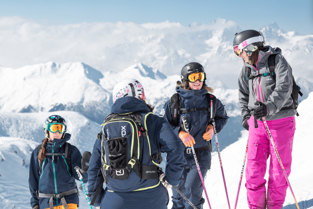 training ski instructor course verbier