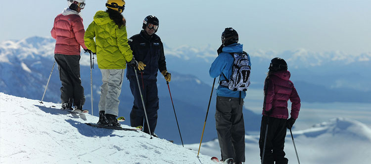 Canada ski gap course