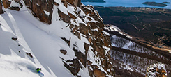 Argentina ski and snowboard gap course