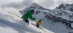 Canada ski and snowboard gap course