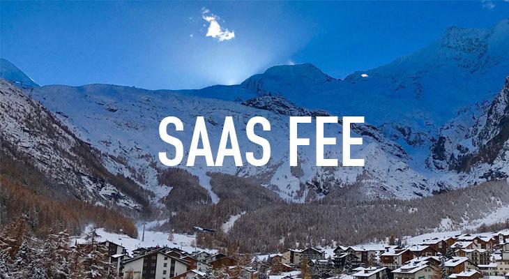 Saas Fee ski gap course and snowboard instructor training