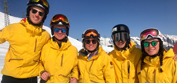 Ski instructor gap course job opportunities with Les Elfes