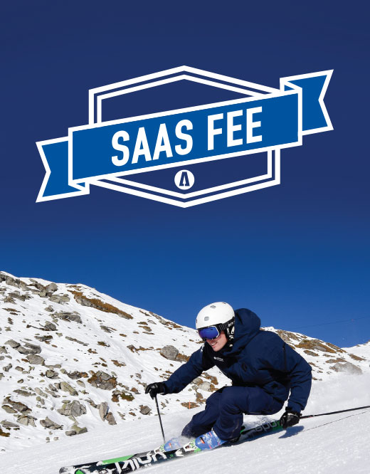 Saas Fee ski instructor Gap course