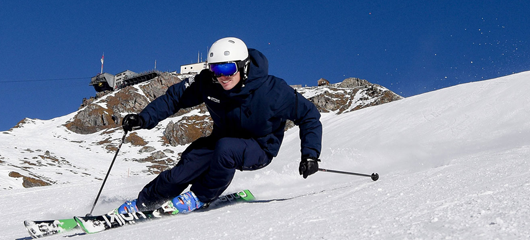 Verbier ski gap course - BASI ski instructor training