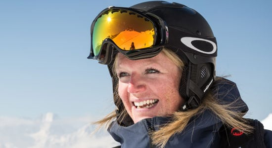 Verbier GAP Course ski coaches - Emma