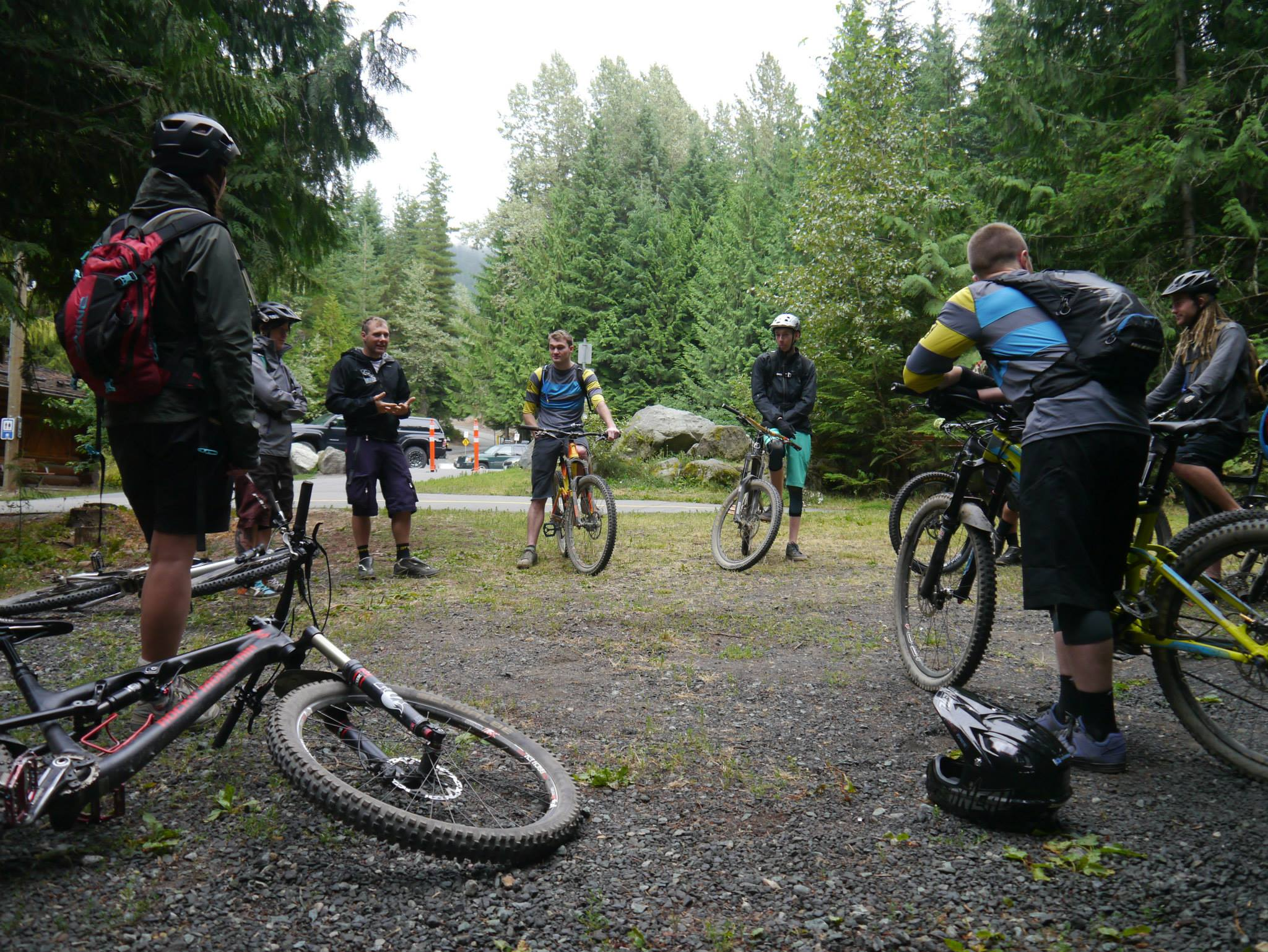 Trainees get cracking with the CTC Trails Leader at Lost Lake on the Coaches Camp