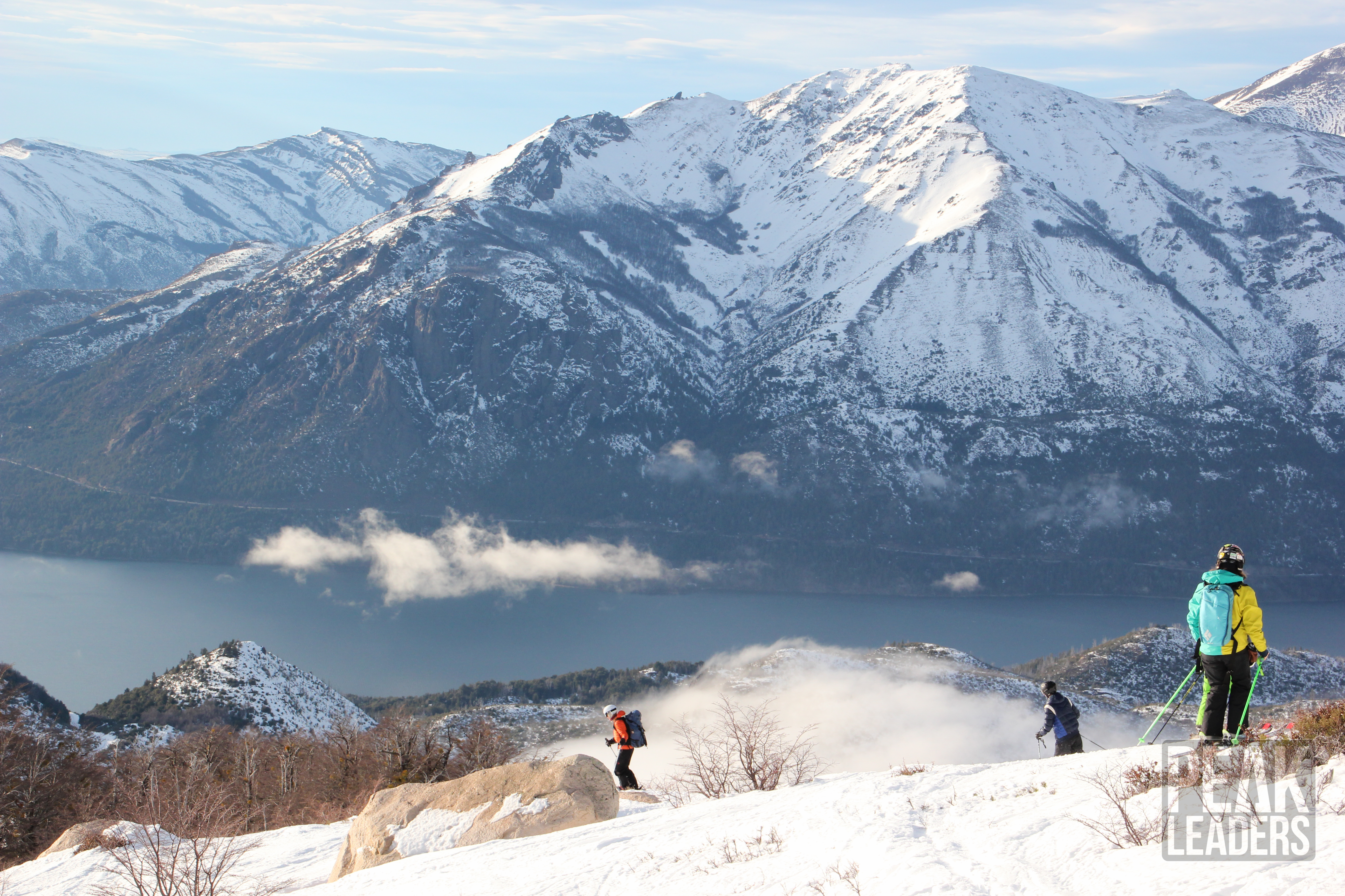 Mpre epic mountain vistas and avalanche awareness training to become a Ski Instructor Graduate