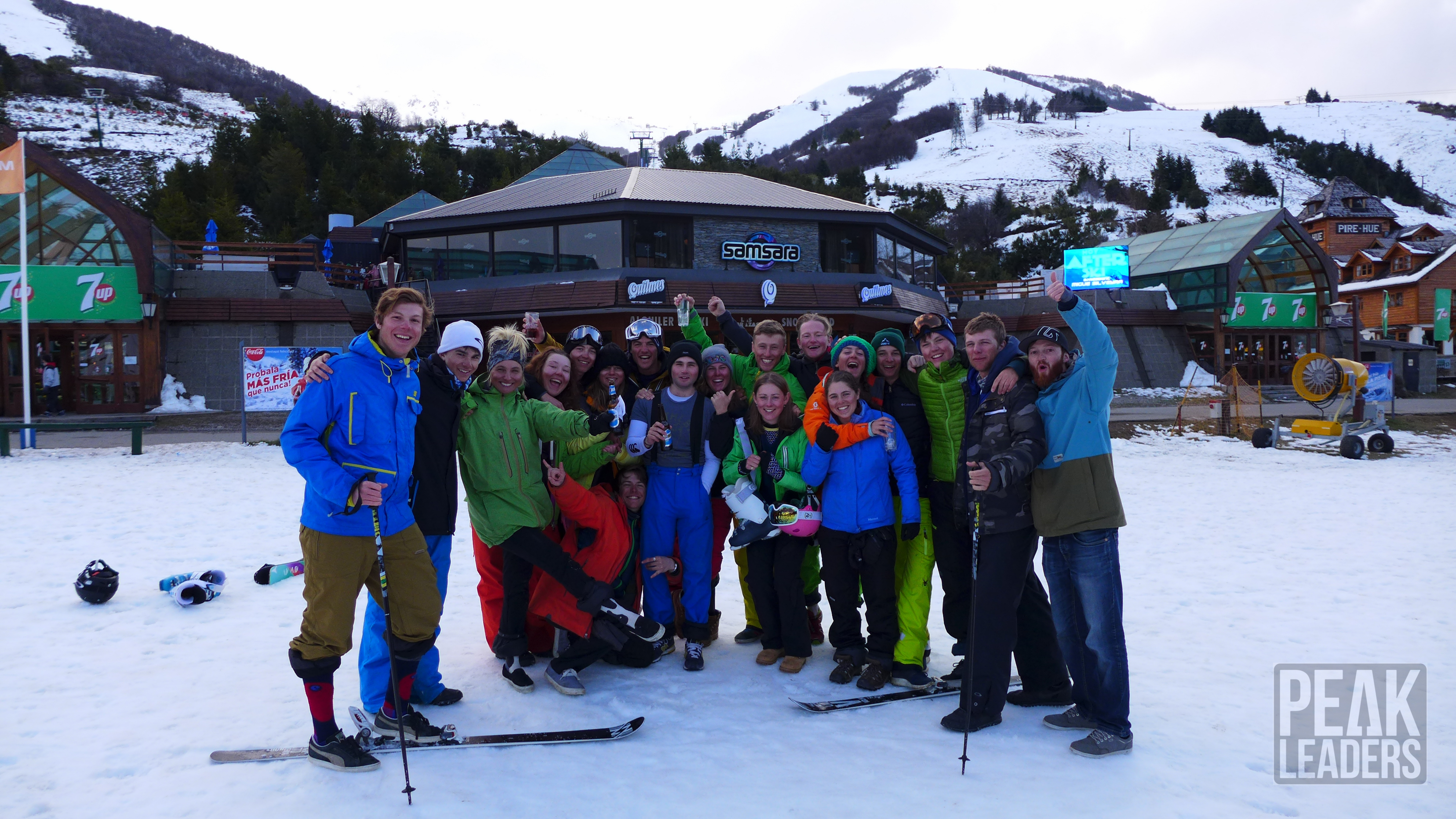 Group celebratory photo for passing BASI Level 2