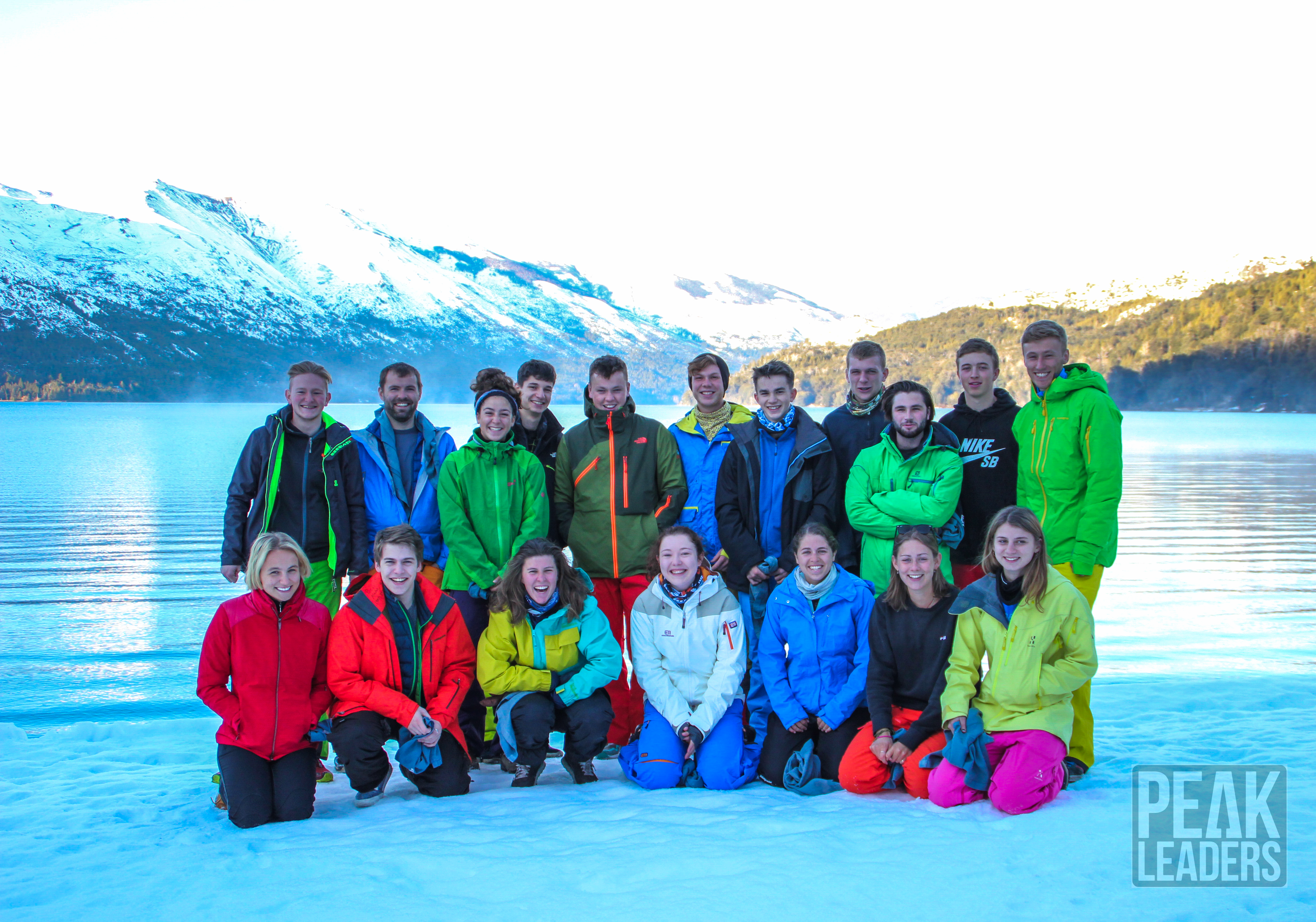 2015 Ski Instructor Graduate group photo