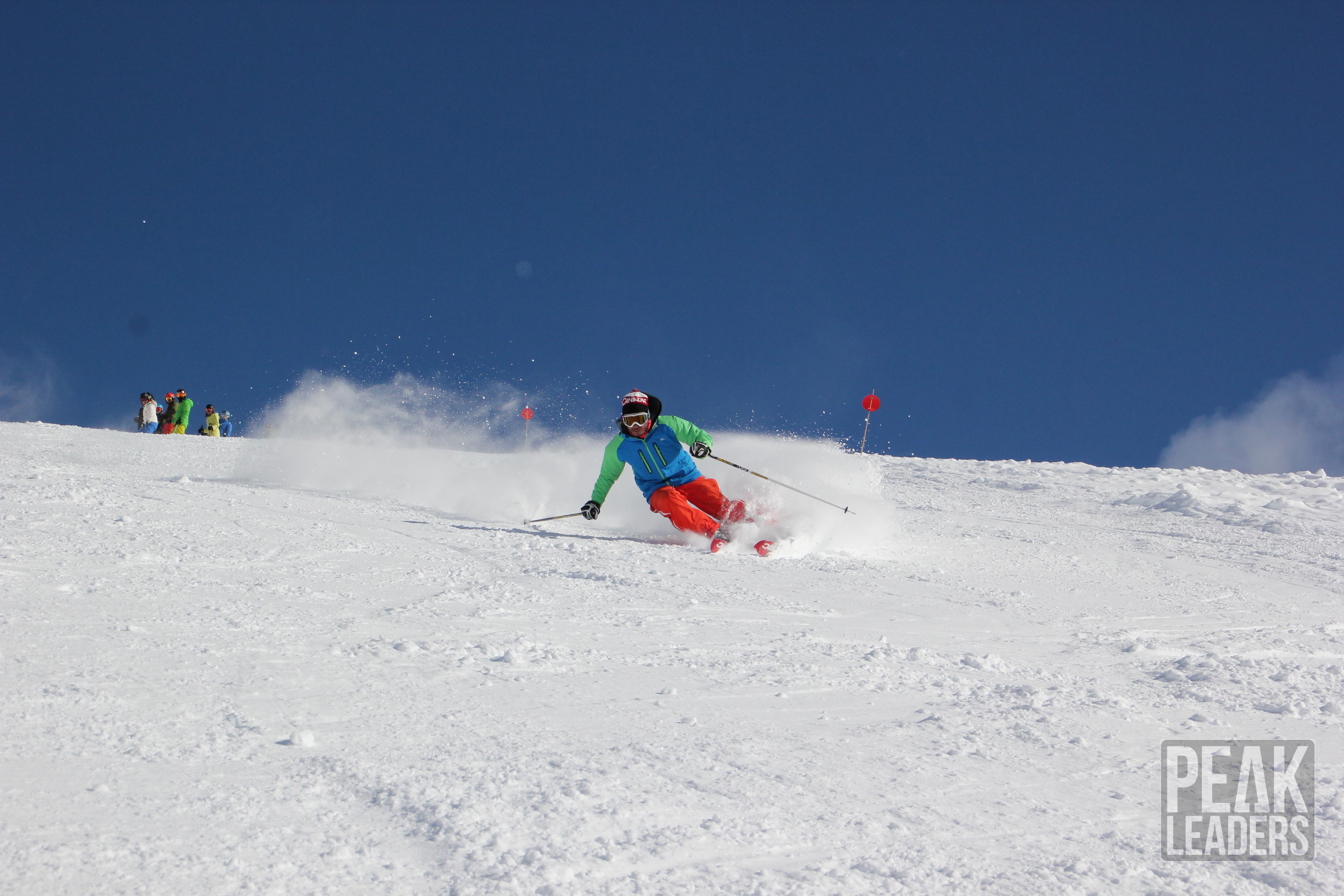 Ski Instructor graduate Georgina received training from Agustin Torres, former Olympian.