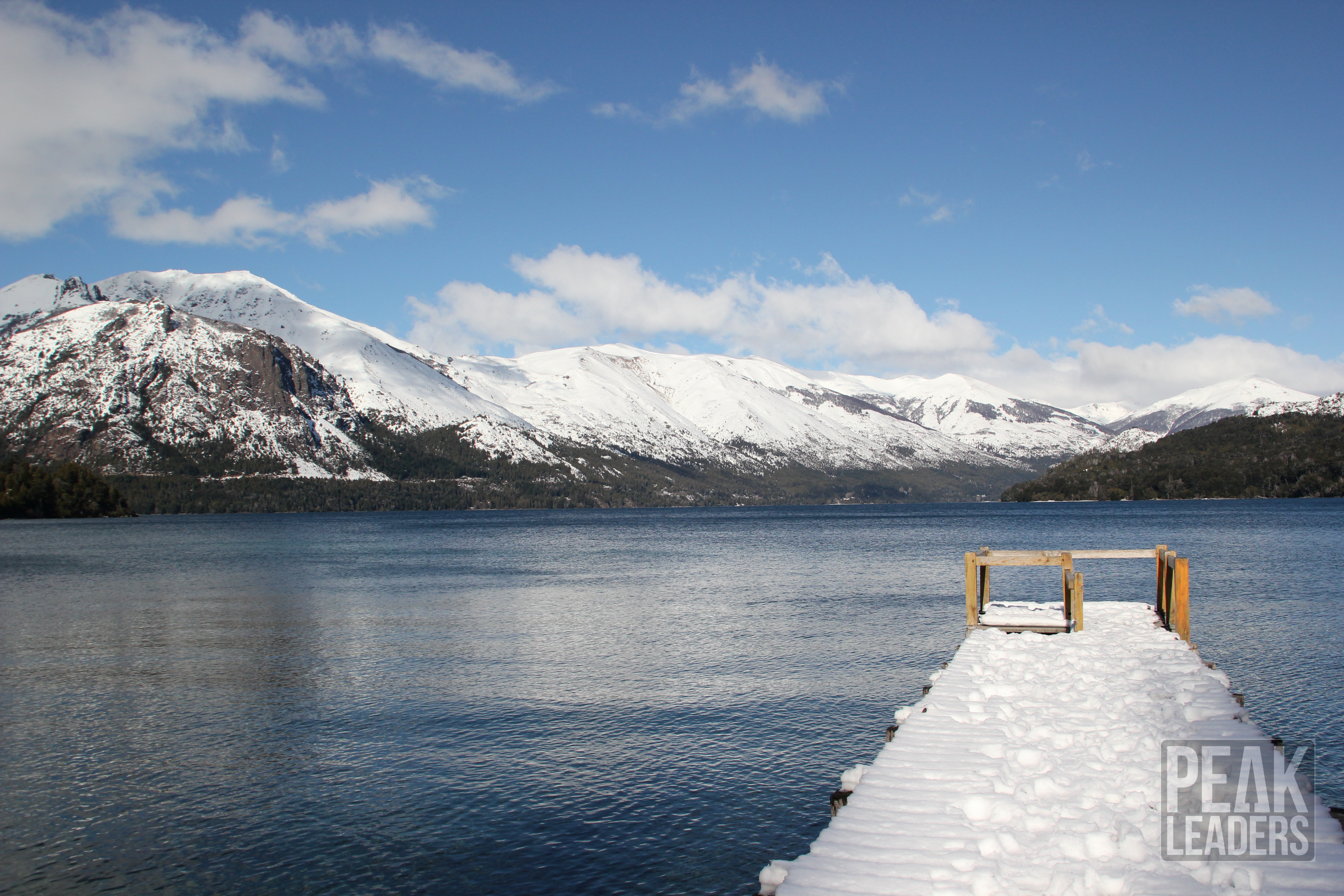 Lago Guitierrez looking like a picture! What Ski Instructor Graduate dreams are made of