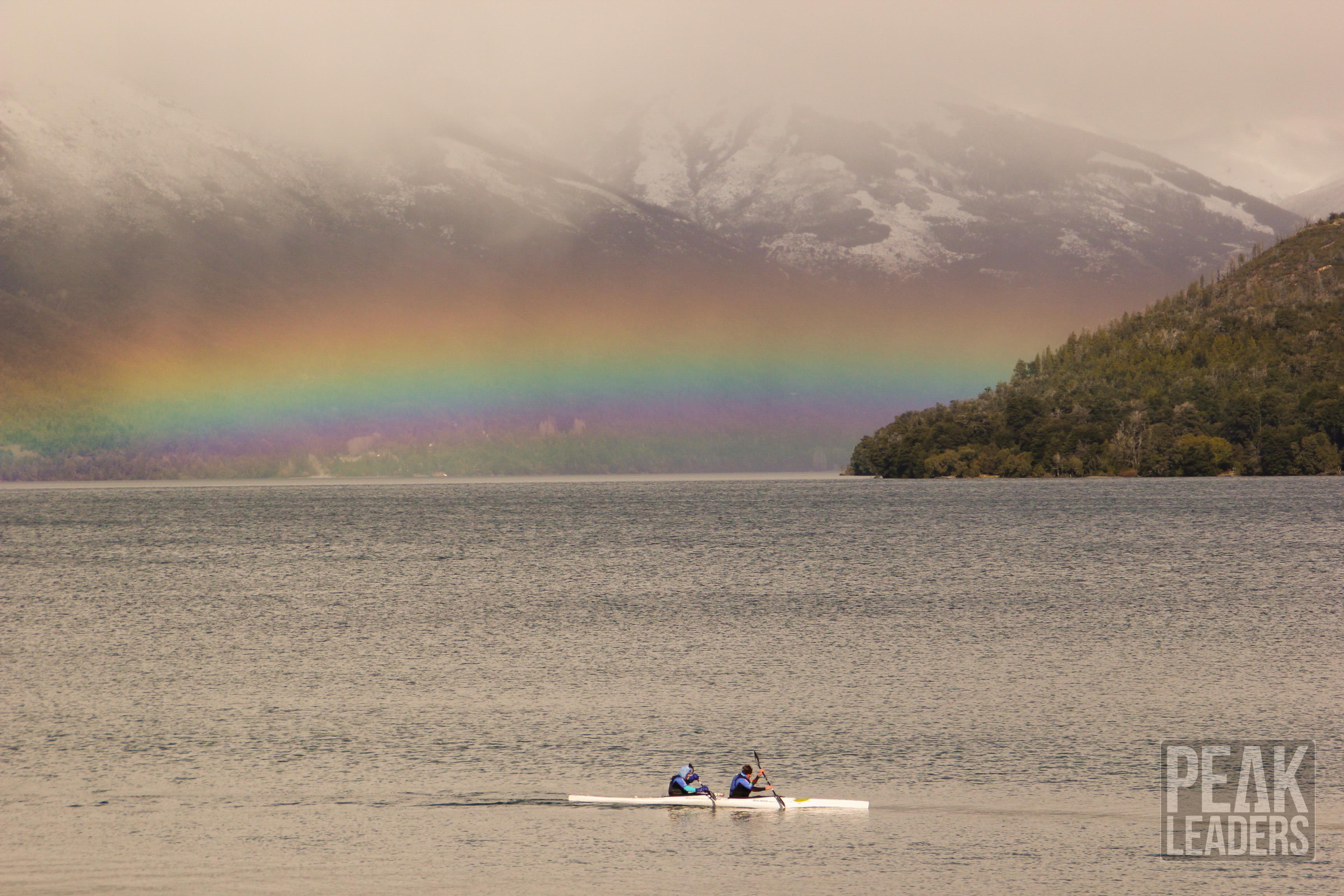 More kayaking on Lago Gutierrez