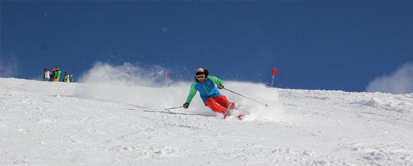 BASI Gap course skier