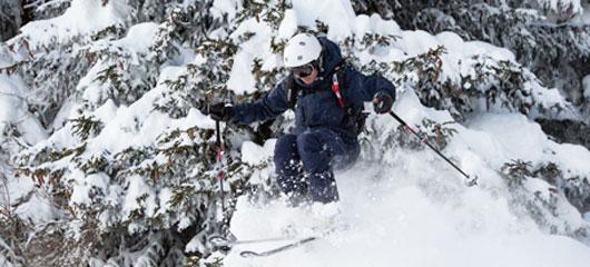 Verbier ski gap course - BASI ski instructor training