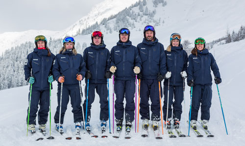 Ski Lessons Verbier team photo