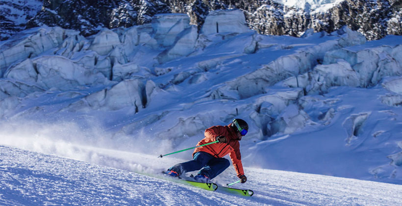 Autumn ski instructor gap course