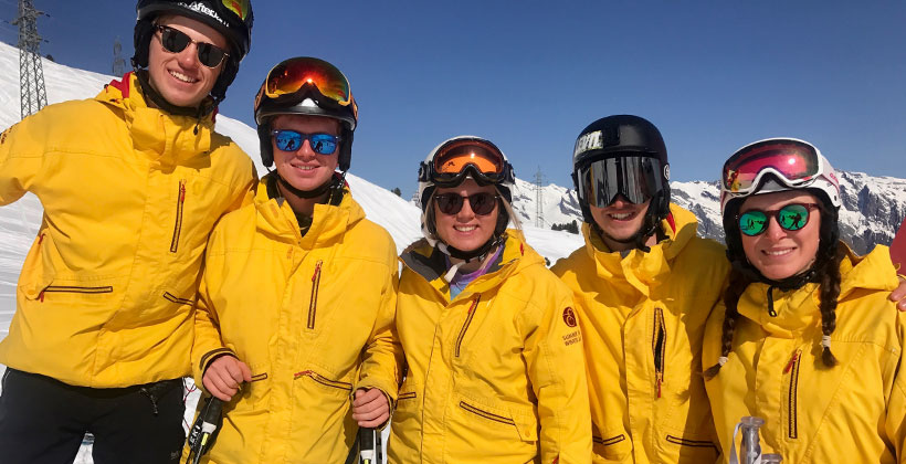 Gap course ski instructor job option