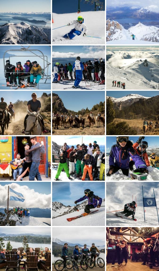 Baroliche ski instructor training course gallery