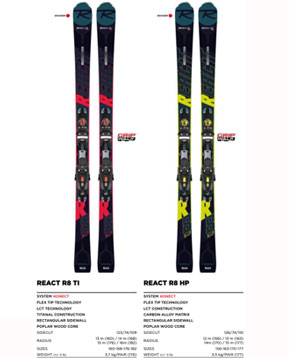 Rosignol GAP course skis