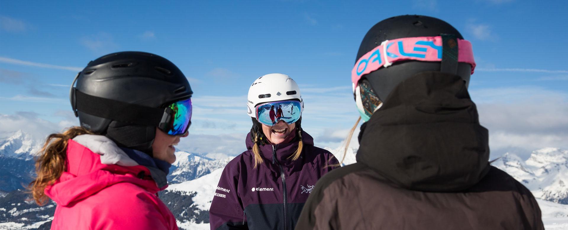 Working As A Ski Instructor Basi Ski Instructor Training Courses Peak Leaders