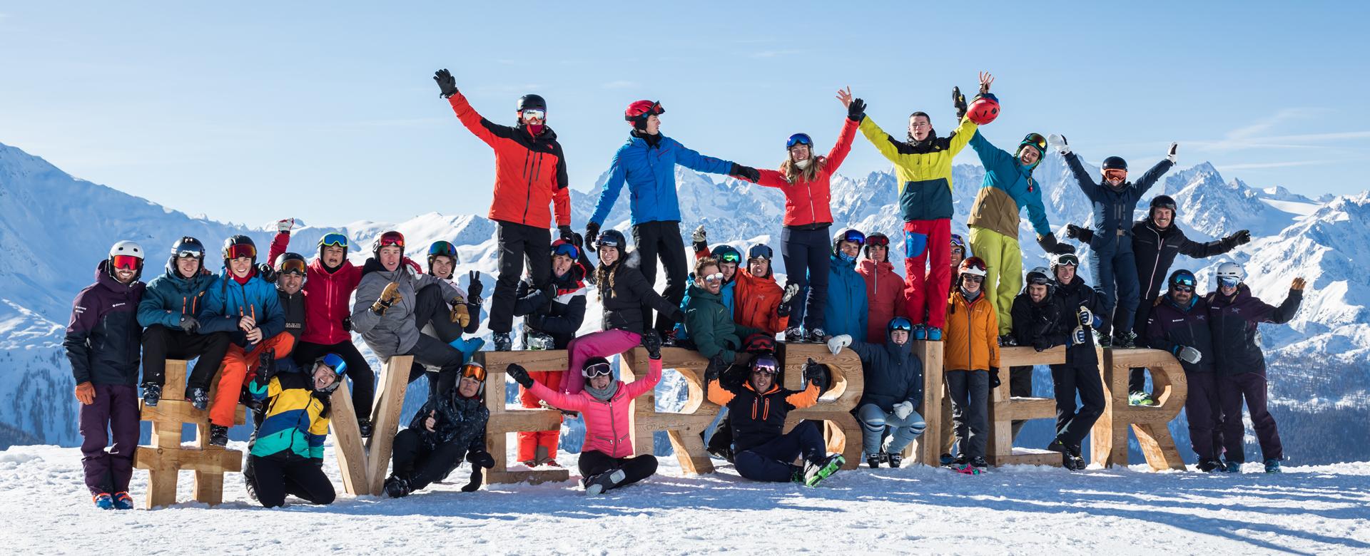 Verbier ski gap courses