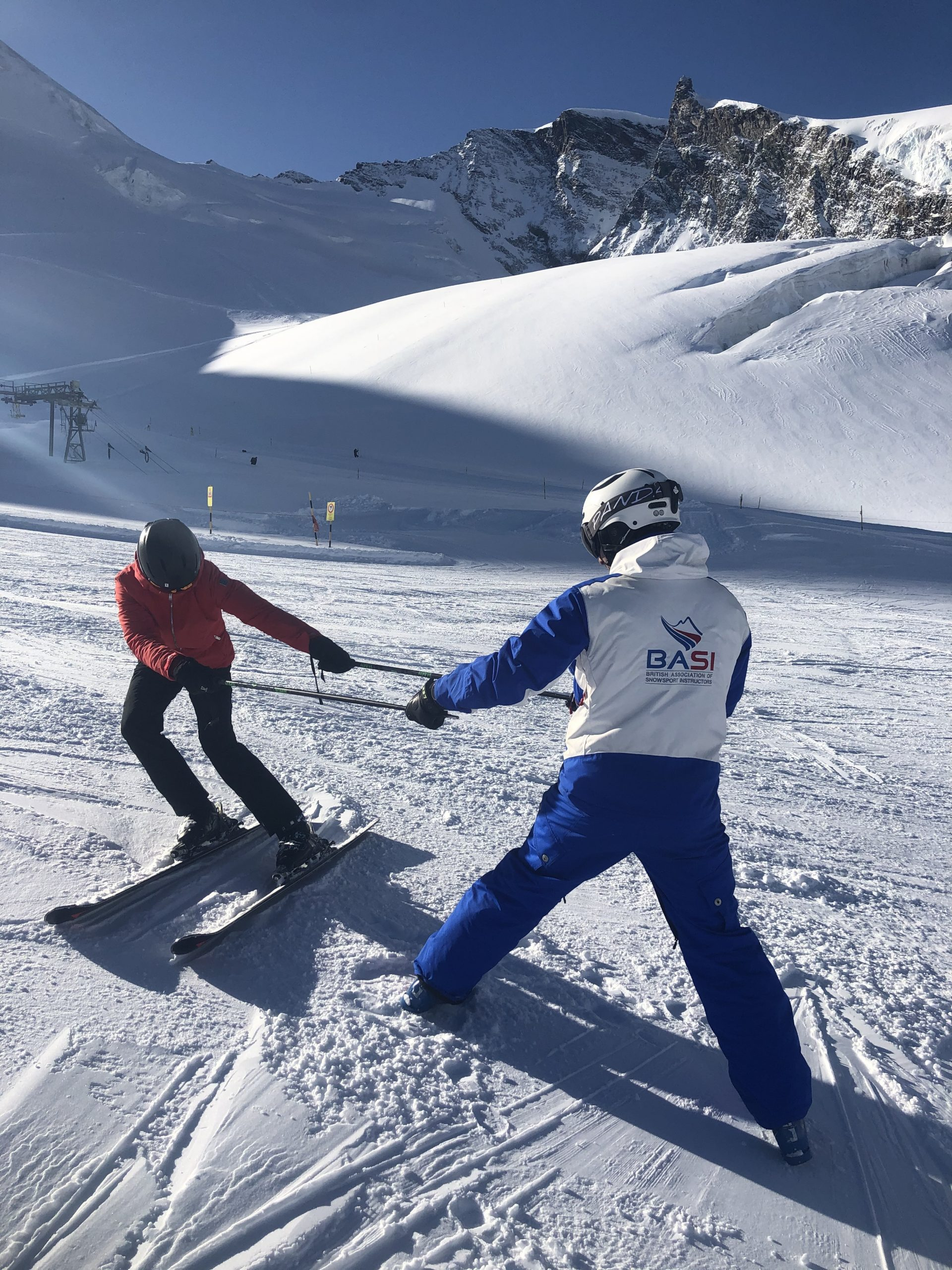 BASI ski gap course exams
